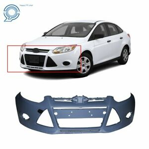 Primered Front Bumper Cover For 2012 2013 2014 Ford Focus Sedan Hatchfo1