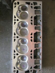 New Pair Cylinder Heads L92 Alum Custom Ported 68 2 Cc Chamber Chevy