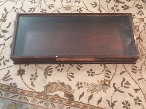 Vintage General Store Countertop Glass Display Showcase Case