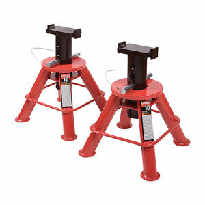Sunex Low Height Jack Stands 10 Ton Capacity 11in To 17 3in H Model 1210