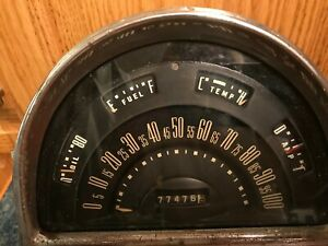 1952 Ford Speedometer And Gauges