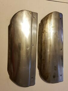 1953 Pontiac Chieftain Rear Stone Guard Trim Molding Chrome