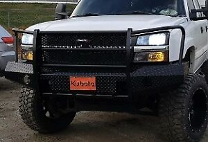 2003 2007 Chevrolet 2500 3500 Bumper Trail Fx Fx3006 Ranch Hand Style Chevy