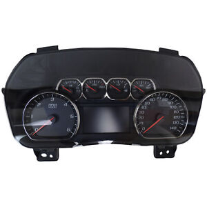 23259635 Instrument Cluster W multi Color Display 15 16 Tahoe Suburban Silverado