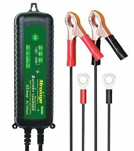 Auto Battery Maintainer Charger 12v Lithium Waterproof Trickle Intuitive Led