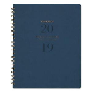 At A Glance Signature Firenze Navy Weekly monthly Planner 8 3 8x11 2019