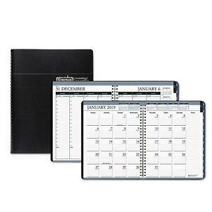 House Of Doolittle Recycled Wirebound Weekly monthly Planner 8 5x11 Black 2019