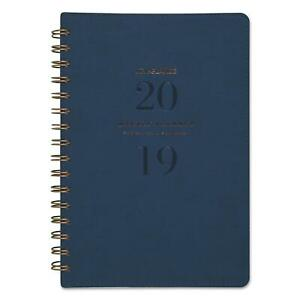 At A Glance Signature Firenze Navy Weekly monthly Planner 5 3 8x8 5 2019
