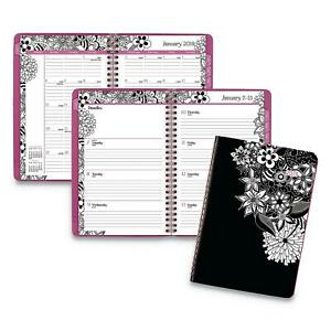 At A Glance Floradoodle Desk Weekly monthly Planner 6 5x8 7 8 2019
