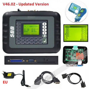 Black Sbb V46 02 Universal Key Programmer Immobilizer For Multi Brands Car Tool