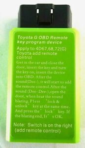 Car Obd Remote Key Programmer Device For Toyota G