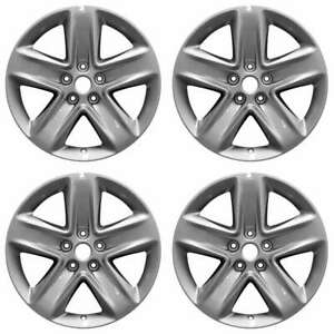 Ford Fusion 2010 2011 2012 2013 18 Oem Wheel Rim Set