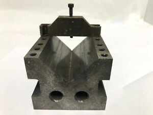 Machinist s Toolmakers V block And Clamp
