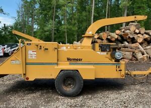 Vermeer Bc1800 With Hydraulic Winch 2723