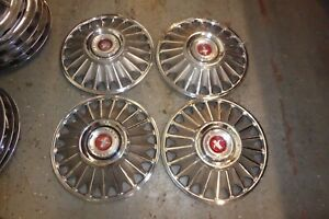 1967 67 1968 68 Ford Mustang Hubcaps Wheel Covers Center Caps Vintage