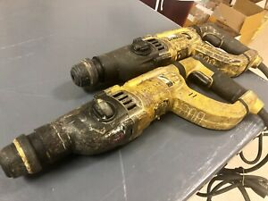 Dewalt D25263 3 Mode D handle Electric Corded Sds Rotary Hammer Drill lot Of 2