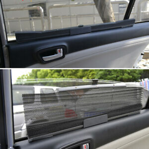 Car Truck Van Visor Shade Sun Uv Protection Auto Retractable Side Curtain Window