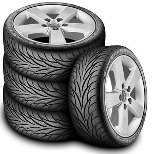 4 New Federal Super Steel 595 225 40r18 Zr 88w A S High Performance Tires