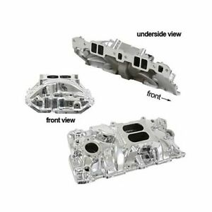 Edelbrock 27014 Performer Eps Intake Manold Chevy S283 327 350 Fits Stock Heads