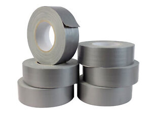 Wod Waterproof Silver gray Duct Tape 2 In X 60 Yds 6 Rolls For Diy