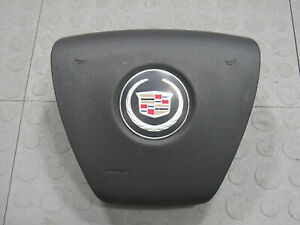 07 10 Cadillac Escalade Driver Steering Wheel Mounted Horn Button Oem Black B
