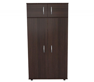 Inval Am 2823 4 Door Armoire Wardrobe Espresso