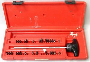 Snap On 10 T handle Ratcheting Magnetic Long Screwdriver Kit Ssdmrt8