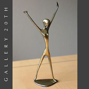 Mid Century Modern Abstract Hagenauer Nude Sculpture Aubock Eames Statue 1950 S