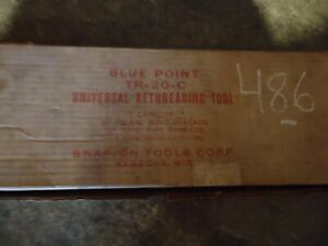 Blue Point External U S Snap On Tool Thread Chaser Set Tr 20 C