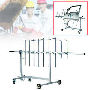 Car Auto Body Parts Painting Rack Paint Stand Hood Panel Hook Hanger Holder Us