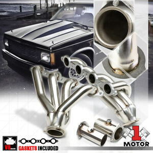 Stainless Steel Exhaust Header Manifold For 82 04 Chevy S10 Sonoma S15 Ls Swap