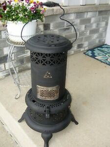 Antique Working Perfection Oil Kerosene Parlor Cabin Camping Heater New Wick