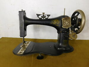 1870 Antique Adelaide Treadle Sewing Machine German 4 Australia Head Only