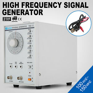 Tsg 17 Radio High Frequency Signal Generator 100khz 150mhz 110v