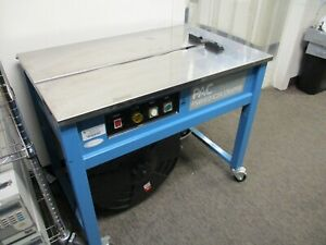 Pac Strapping Machine Table Top Semiautomatic Psm1412 ic3a