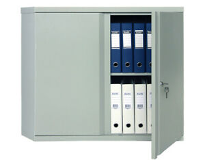 M 08 2 Shelf Home Safe Box Solid Steel Construction With Key And 2 Door Locks