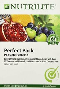 Nutrilite Perfect Pack For Your Health Pack 60 Packet By Amway Exp Date 05 2019