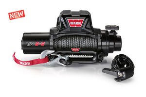 Warn Vr8 S Winch W Synthetic Rope 8000 Lb Winch 96805 Free Same Day Shipping
