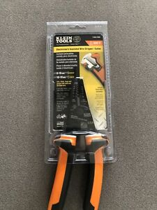 Klein Tool Electrician s Insulated Wire Stripper And Cutter 1000v