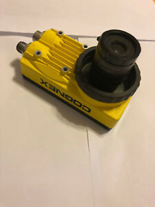 Cognex In sight Is5403 11 Vision Camera 825 0221 1r B With Edmunds Lens