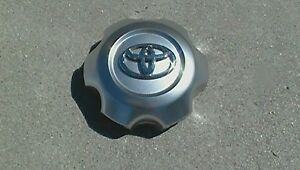 Toyota Center Cap Hubcap 4runner Wheel 2006 2009 Hyper Silver 69481 Used