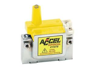 Accel 11076 Ignition Coil Super Coil Fits Honda Acura Internal Coil Each