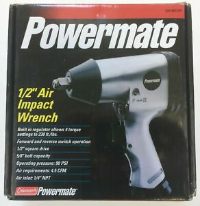 Powermate 1 2 Air Impact Wrench 024 0077sp 230 Ft Lbs Factory Sealed