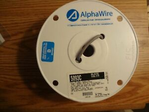 100 Ft Alphawire Cable 5093c 20awg 3c Shield Spool