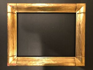 Incredible Antique Arts Crafts Mission Gold Newcomb Macklin Style Picture Frame