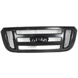 New Grille Front For Ford Ranger 2006 2011 Fo1200481 6l5z8200bad Pickup 4 door