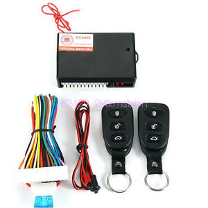 Us Car Remote Control Central Kit Door Lock Locking Keyless Entry System