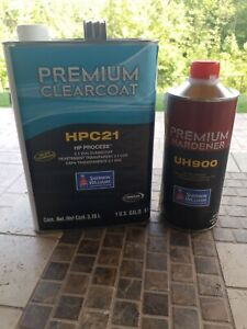 Sherwin Williams Hpc 21 Clearcoat 1us Gal 1us Quart Uh900 Hardner
