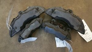 2011 Audi Q7 Set Of Brembo 18z Calipers Caliper Fronts And Rears