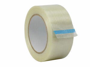Wod Filament Strapping Reinforced Tape 2 Inch X 60 Yds Bulk Case Of 24 rolls